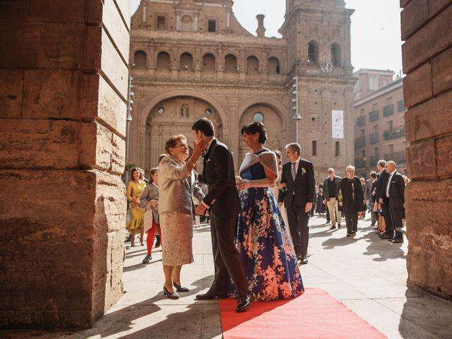La boda de Israel y Dafne en Castejon, Navarra 17