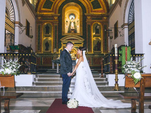 La boda de Antonio y Vero en Laujar De Andarax, Almería 34