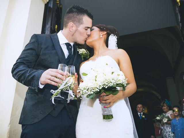La boda de Antonio y Vero en Laujar De Andarax, Almería 36