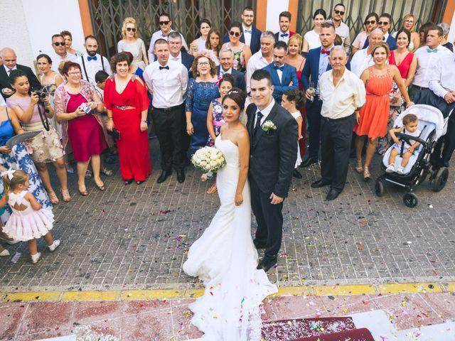 La boda de Antonio y Vero en Laujar De Andarax, Almería 37