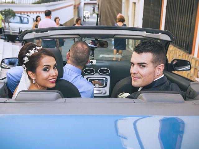 La boda de Antonio y Vero en Laujar De Andarax, Almería 38