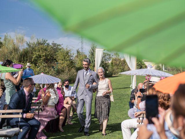 La boda de César y Mamen en San Agustin De Guadalix, Madrid 17