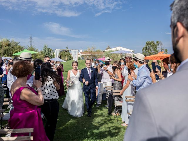 La boda de César y Mamen en San Agustin De Guadalix, Madrid 20
