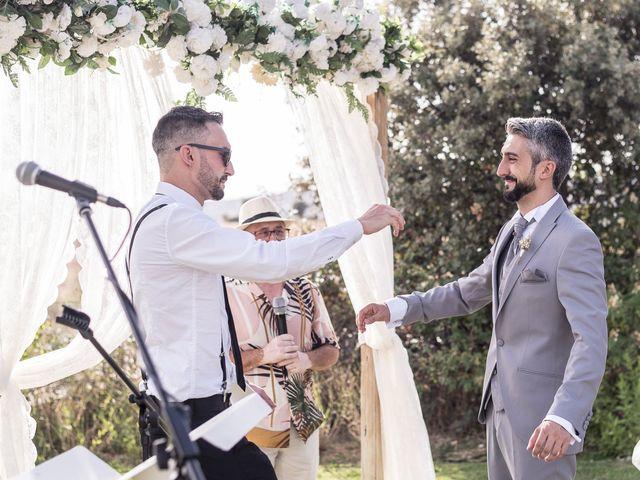 La boda de César y Mamen en San Agustin De Guadalix, Madrid 24