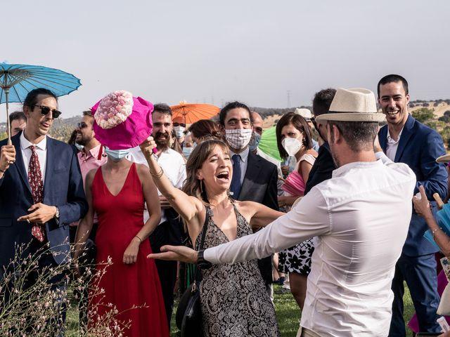 La boda de César y Mamen en San Agustin De Guadalix, Madrid 32