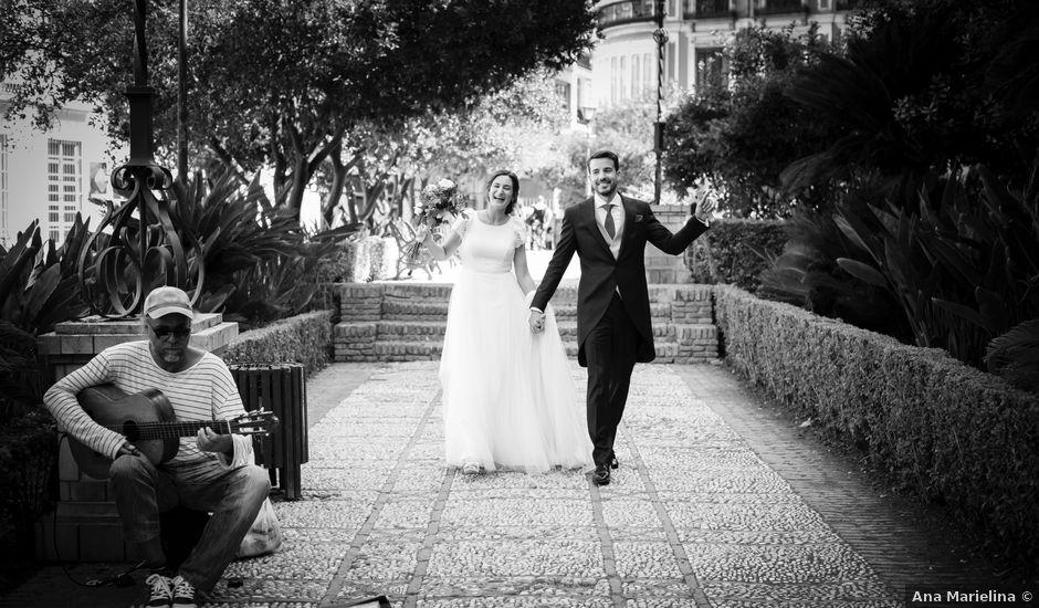 La boda de Ignacio y María en Málaga, Málaga