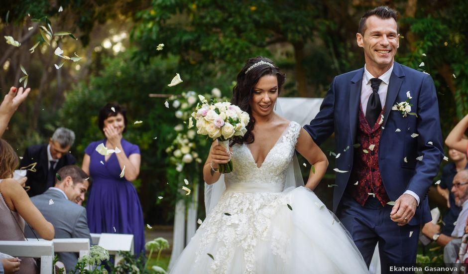 La boda de Cyril y Oksana en Sant Pere De Ribes, Barcelona