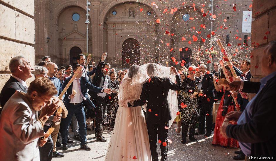 La boda de Israel y Dafne en Castejon, Navarra