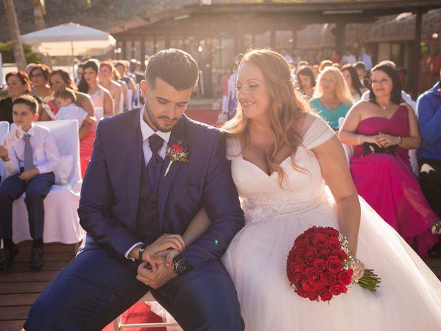 La boda de Asahel  y Jessica  en San Bartolome De Tirajana, Las Palmas 4