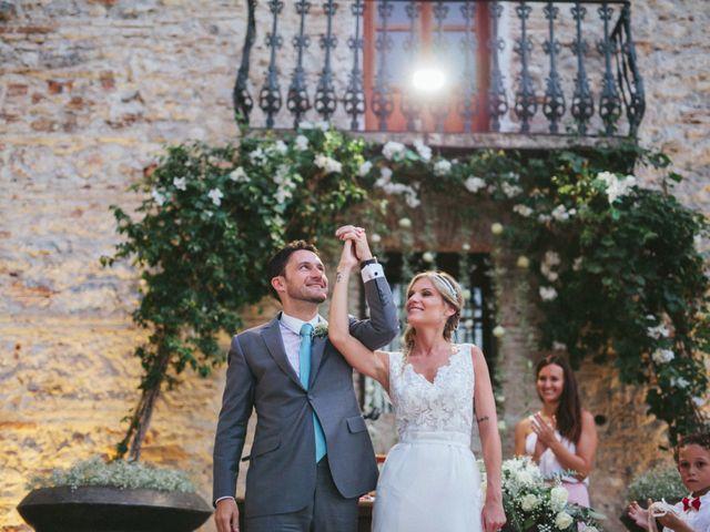 La boda de Paola y François