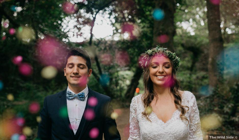 La boda de Óscar y Patri en Nigran, Pontevedra