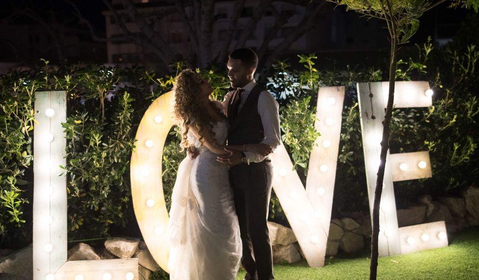 La boda de Erick  y Eddith en La Campaneta, Alicante