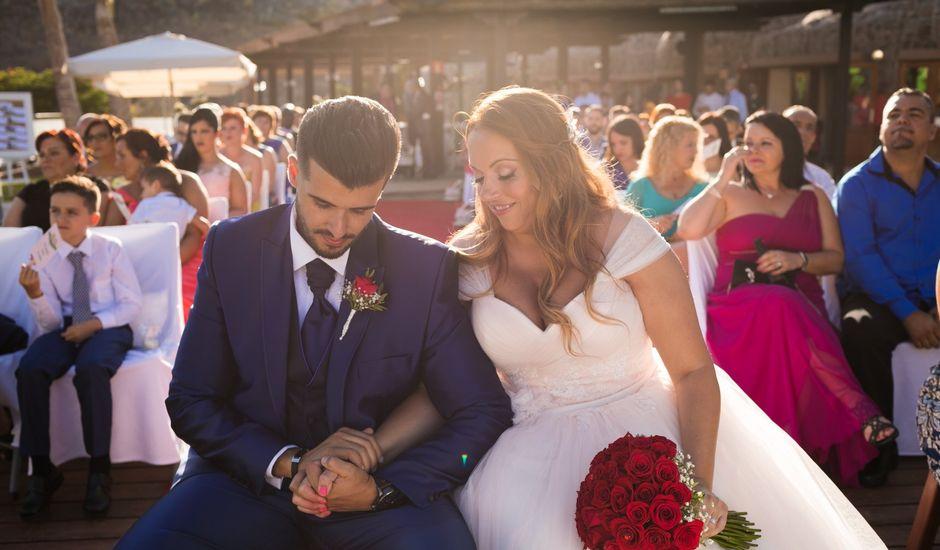 La boda de Asahel  y Jessica  en San Bartolome De Tirajana, Las Palmas