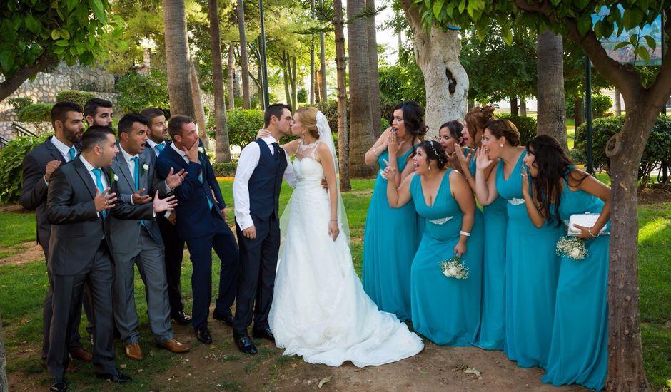La boda de Miguel y Gema en Alhaurin De La Torre, Málaga