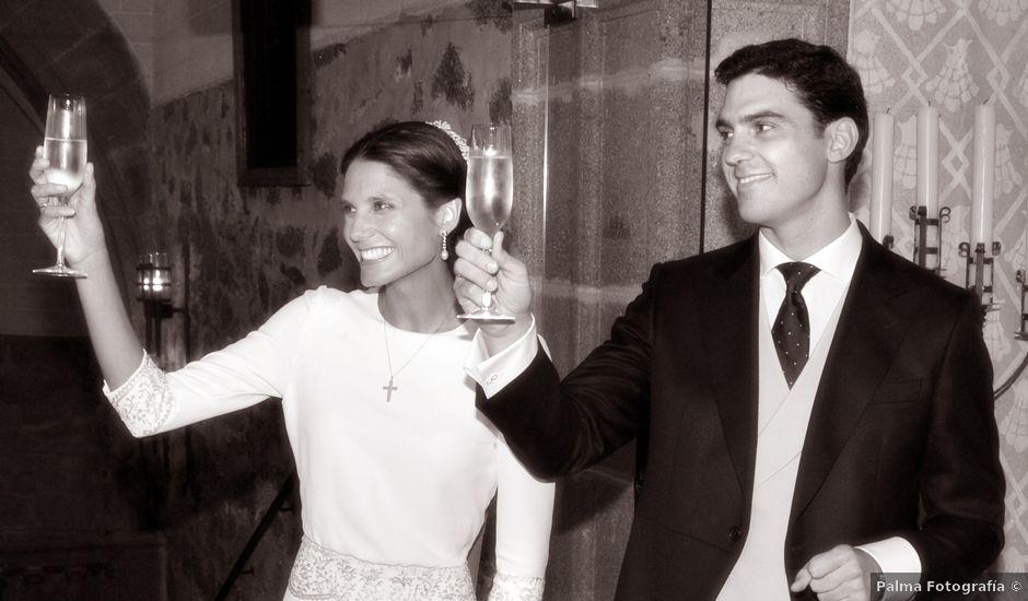 La boda de Andrés y Cristina en Plasencia, Cáceres