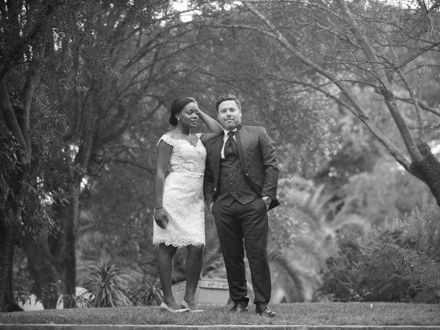 La boda de Mauricette y Alfons