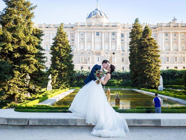 La boda de Alex y Rocío en Madrid, Madrid 2