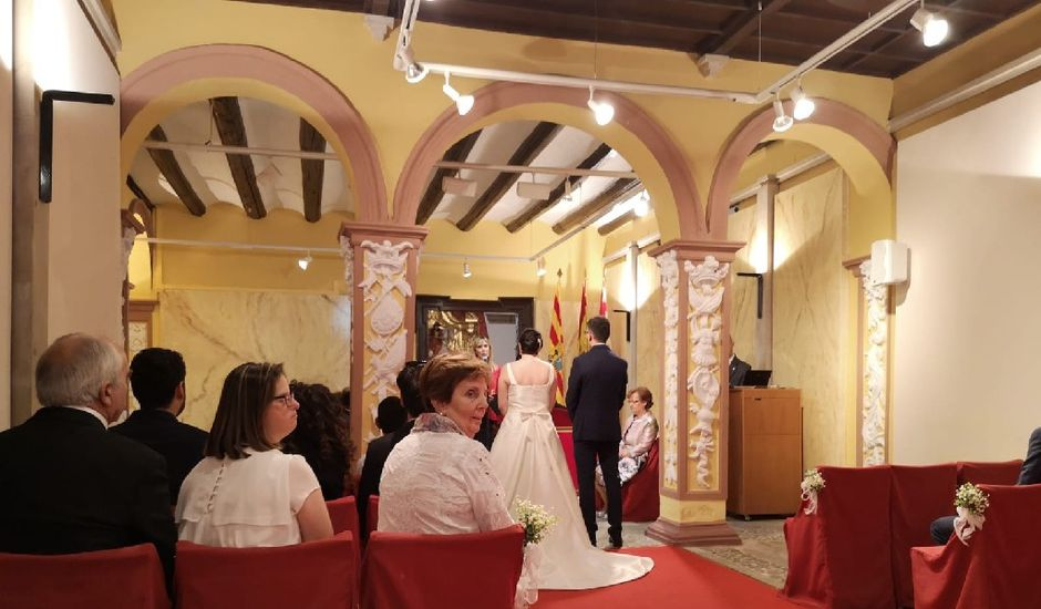La boda de Jose y Dunia en Murillo De Gallego, Huesca