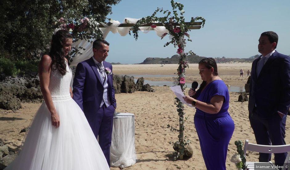 La boda de David y Leticia en Isla, Cantabria