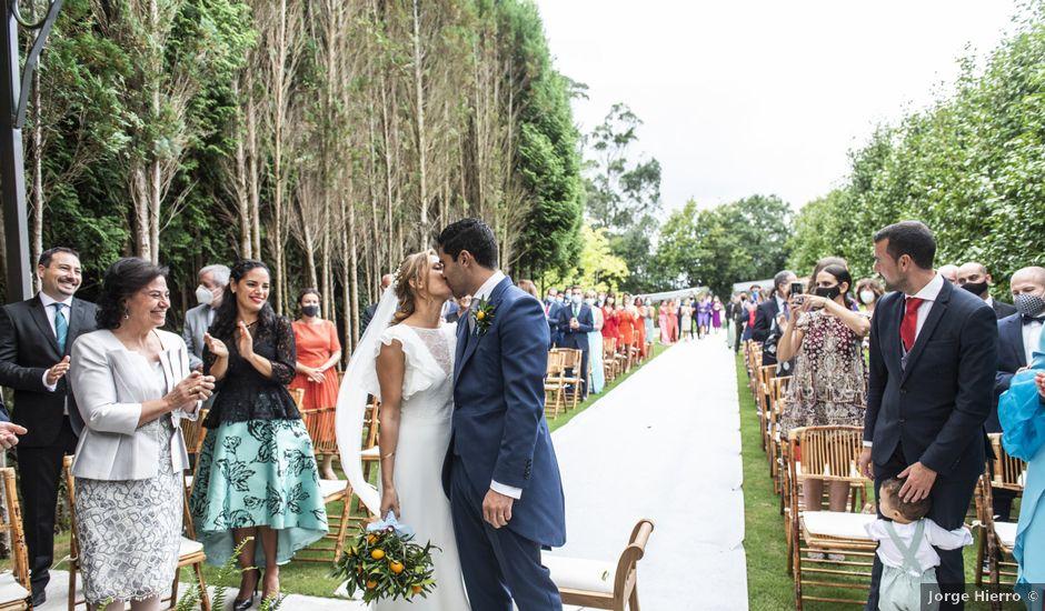La boda de Andrés y Elena en Cubas, Cantabria
