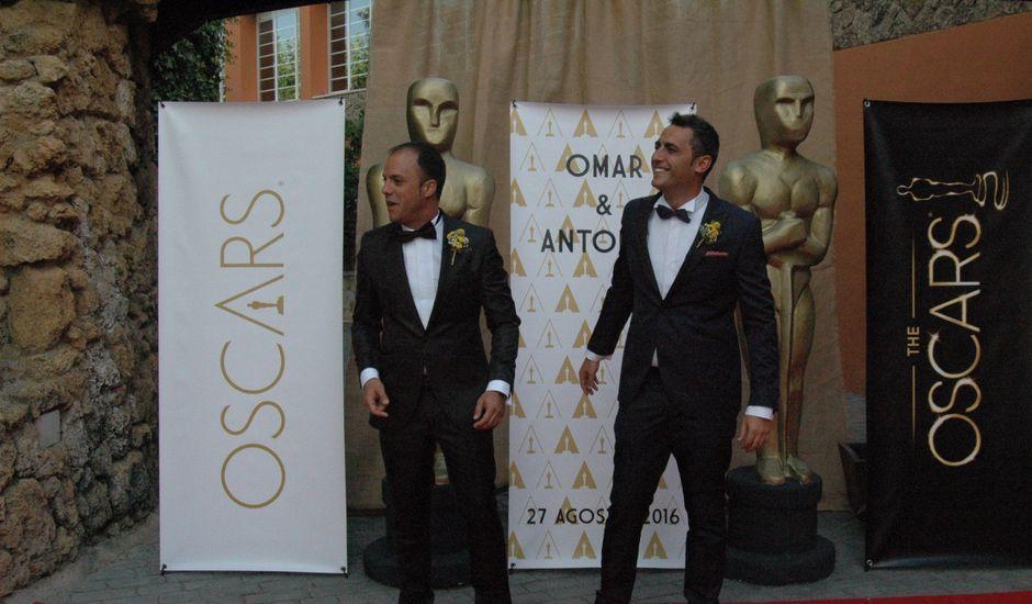 La boda de Antonio y Omar en Nuevalos, Zaragoza