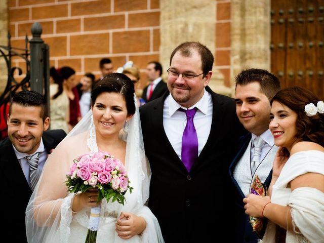 La boda de Daniel y Estefanía en San Fernando, Cádiz 2