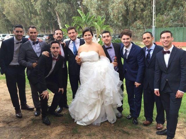 La boda de Daniel y Estefanía en San Fernando, Cádiz 6