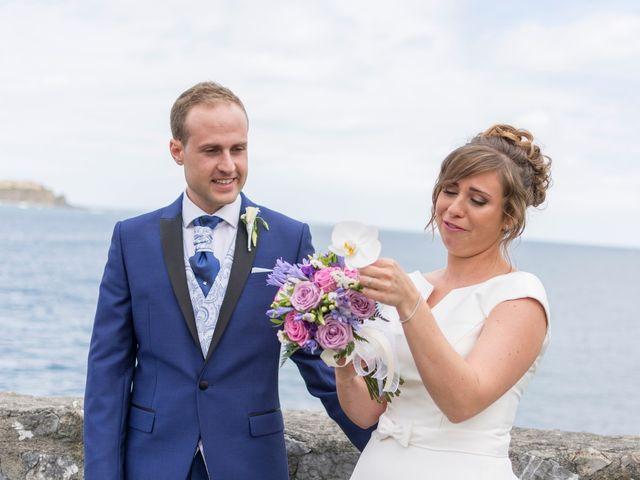 La boda de Urko y María en Bakio, Vizcaya 36