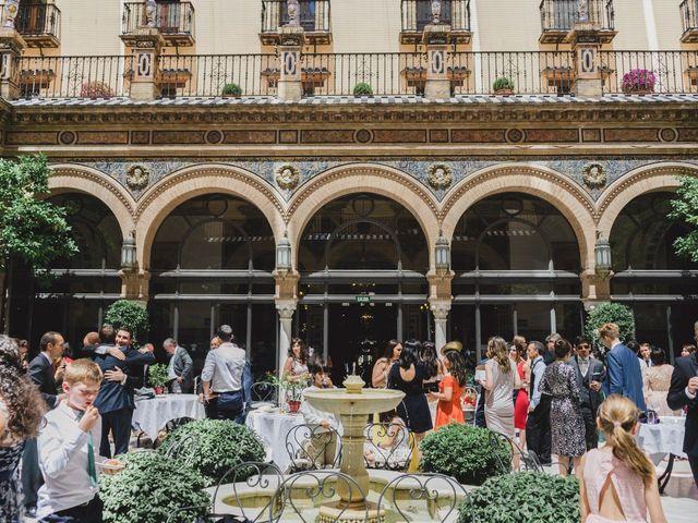 La boda de Fran y Jasmin en Sevilla, Sevilla 61