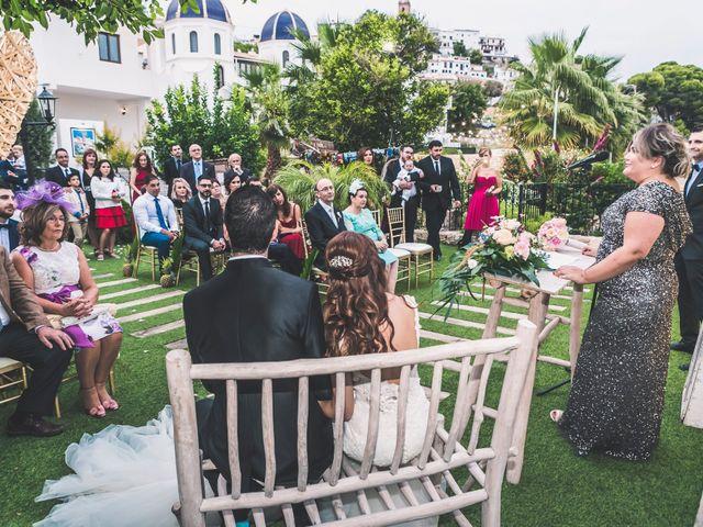 La boda de Oscar y Laura en Altea, Alicante 30