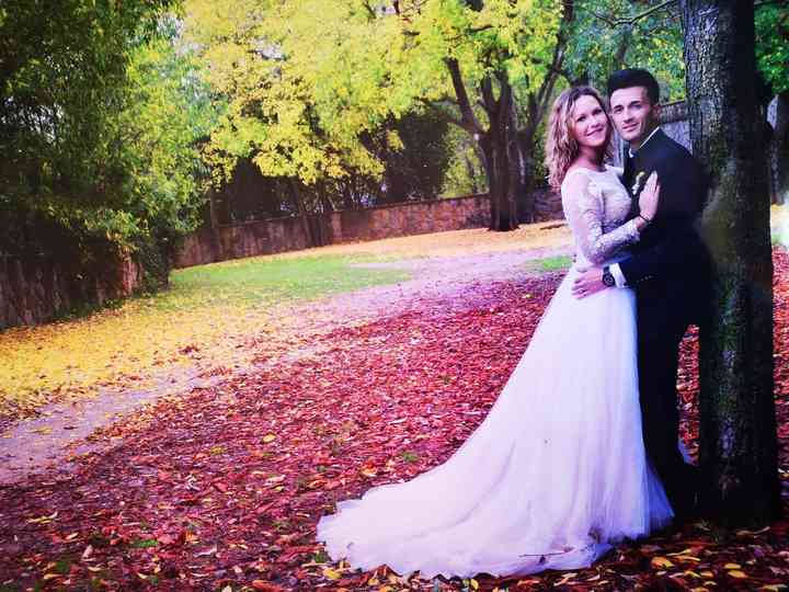 La boda de Andreea y Alex
