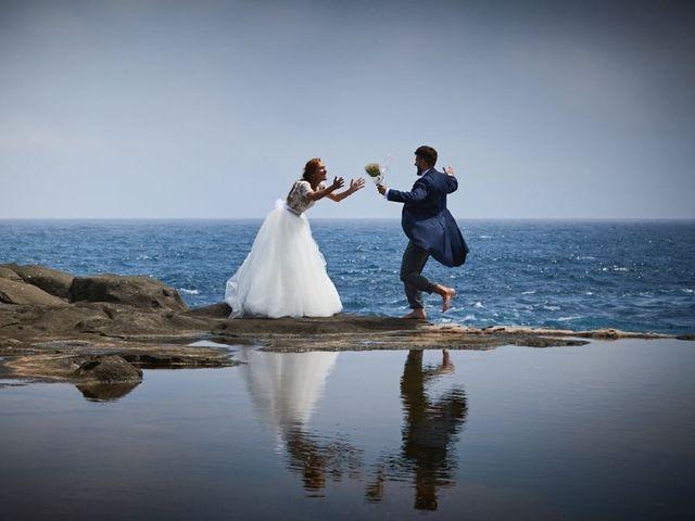 La boda de Benjamin  y Silvia  en Las Palmas De Gran Canaria, Las Palmas 1