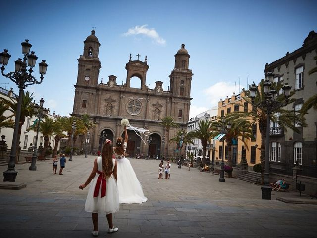La boda de Benjamin  y Silvia  en Las Palmas De Gran Canaria, Las Palmas 5
