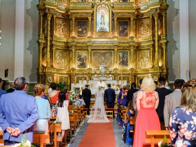 La boda de Miguel y Irene en Tarancon, Cuenca 29