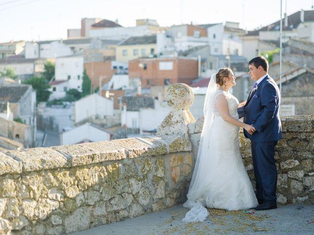 La boda de Miguel y Irene en Tarancon, Cuenca 41