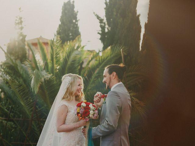 La boda de Christine y Juan