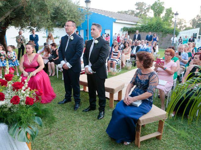 La boda de Jordi y Diego en El Rocio, Huelva 16