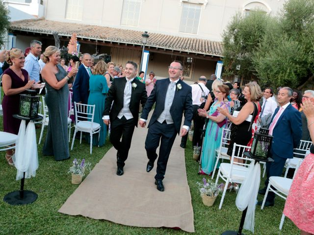 La boda de Jordi y Diego en El Rocio, Huelva 18