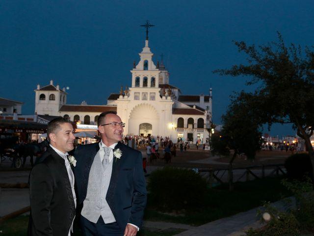 La boda de Jordi y Diego en El Rocio, Huelva 21