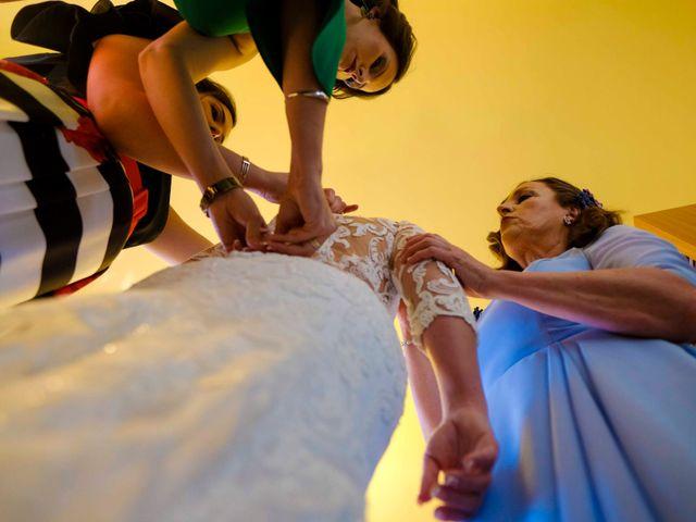 La boda de David y Cristina en Villafranca De Los Barros, Badajoz 7