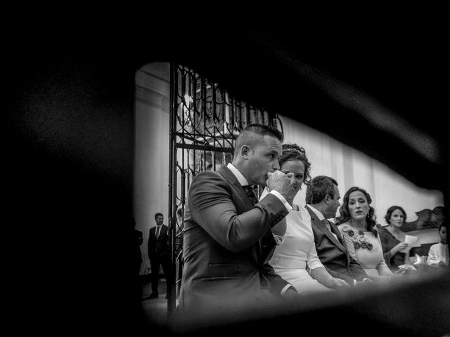 La boda de David y Cristina en Villafranca De Los Barros, Badajoz 13