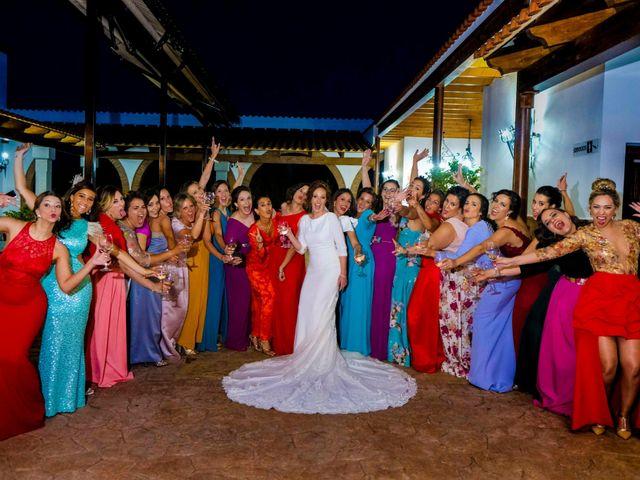 La boda de David y Cristina en Villafranca De Los Barros, Badajoz 15