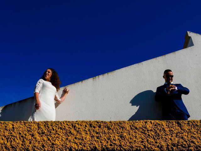 La boda de David y Cristina en Villafranca De Los Barros, Badajoz 32