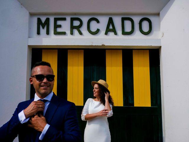 La boda de David y Cristina en Villafranca De Los Barros, Badajoz 40