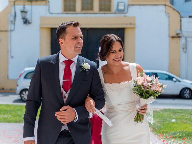 La boda de Dani y Aurora en San Fernando, Cádiz 9