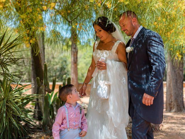 La boda de Dani y Aurora en San Fernando, Cádiz 15