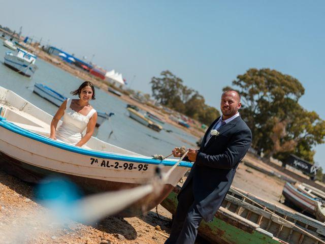 La boda de Dani y Aurora en San Fernando, Cádiz 20