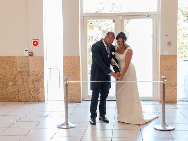 La boda de Dani y Aurora en San Fernando, Cádiz 22
