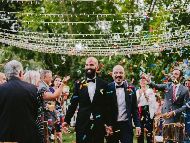 La boda de Carlos y Virgilio