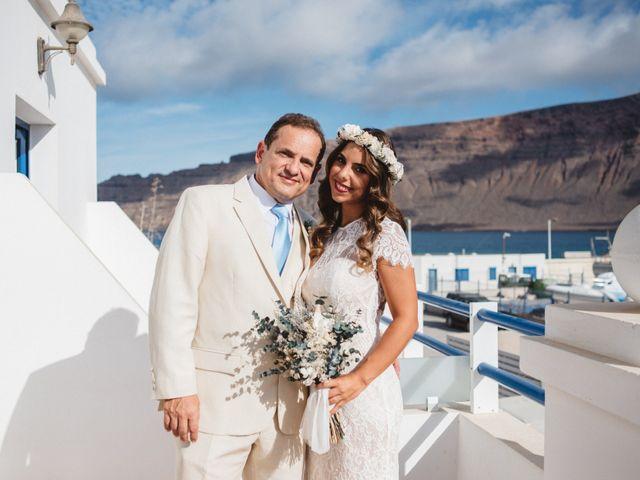 La boda de Nauzet y Laura en Caleta De Sebo (Isla Graciosa), Las Palmas 1